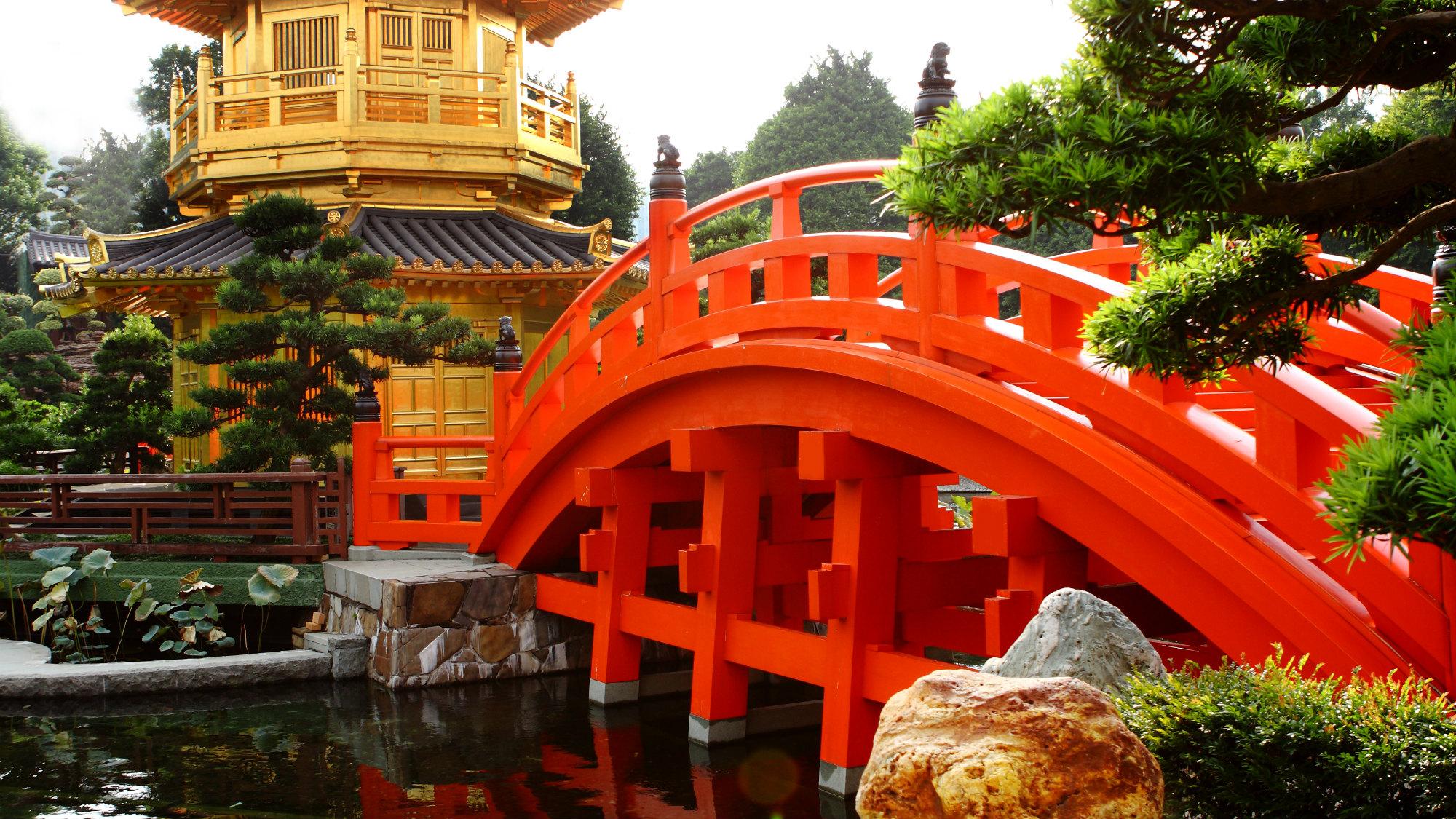 Brücke im See
